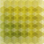 Hexagon pattern - stock illustration