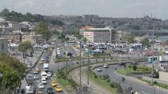 Eminonu District of Istanbul in Turkey (Editorial) Stock Footage
