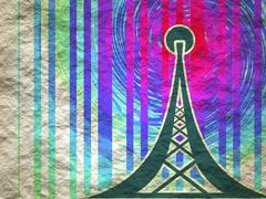 Wi Fi Wireless Network Symbol Stock Illustration