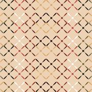 Red brown copper mesh seamless pattern - stock illustration