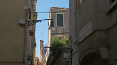 Calle S. Gregorio in Venice - stock footage