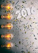 Stock Photo of NYE: Poster Background For New Year 2016 Party