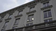 Jablonowski Palace in Warsaw, Poland Stock Footage