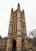 Stock Photo of Palace of Westminster, London, Great Britain, cultural heritage