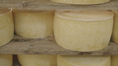 Cheeses in refinig Stock Footage