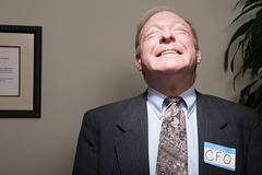 Mature businessman achieving success Stock Photos