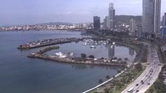 Panama City Bay Time Lapse Stock Footage
