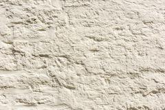 Old White Plaster Paint Wall Background - stock photo