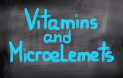 Vitamins Concept - stock illustration