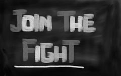 Stock Illustration of Join The Fight Concept