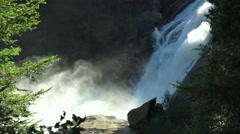 Waterfall krimml slowmo  Stock Footage