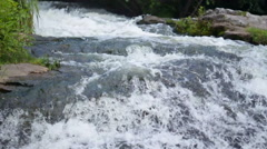 Mountain river rapids Stock Footage