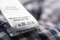 Cloth label Stock Photos