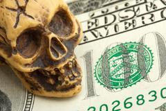 Bankruptcy concept Stock Photos