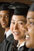 Stock Photo of Student graduation ceremony