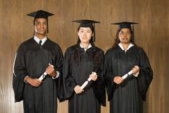 Student graduation ceremony Stock Photos