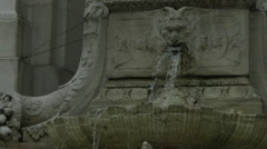 New York Public Library - Cinematic Exterior Shots Stock Footage