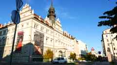 Historic Architecture in the city of Maribor Stock Footage