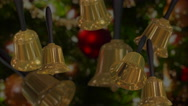 Stock Video Footage of Christmas Hand Bells (looping)