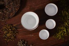 Tea ware Stock Photos