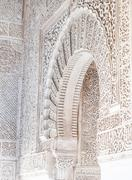 Arabian Door in Alhambra - stock photo
