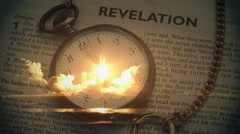 Bible Prophecy Stock Footage