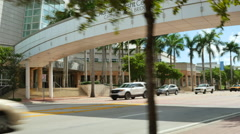 Adrienne Arsht Center of the Performing arts video Stock Footage