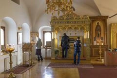 Stock Photo of Suzdal, Russia -06.11.2015. The relics of St. Sophia of Suzdal -  wife Ivan G