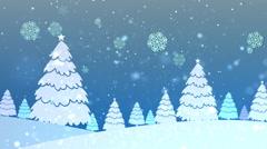 Christmas Retro Bg 2 - stock footage