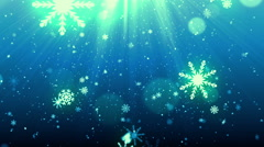 Christmas Eve SnowFlakes - stock footage