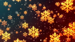 Christmas Flakes - stock footage