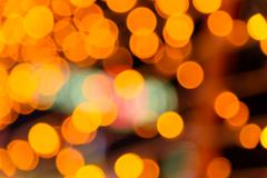 Natural orange and yellow light blurred background Stock Photos