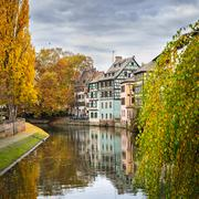 """The historic district  """"Petite France"""" in Strasbourg, France Stock Photos"""