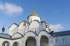 Stock Photo of Cathedral at St. Pokrovsky Monastery was built in  a 16th century in Suzdal .