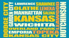 Kansas state cities list Piirros
