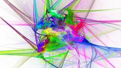 Abstract image. Fractal Wallpaper on your desktop. - stock illustration