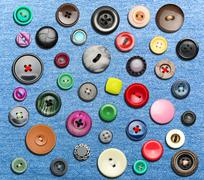 Many colorful buttons Kuvituskuvat