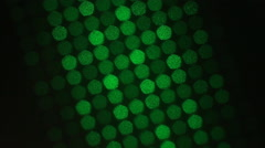 Green laser Stock Footage