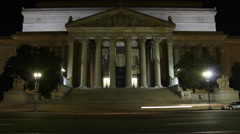 National Archives Hyperlapse - stock footage