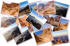 Egypt Sinai Peninsula collage - stock photo