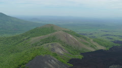 Landscape around Cerro Negro volcano Stock Footage