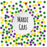 Mardi Gras background. - stock illustration