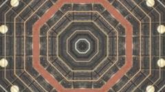 Stock Video Footage of Kaleidoscope Abstract