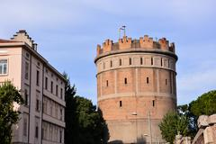 Medieval Aqueduct in Padova Stock Photos