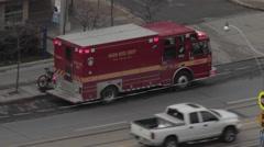 Fire Truck Stock Footage