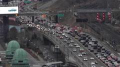 Gardiner Expressway  Toronto Stock Footage