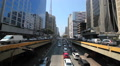 Time lapse of avenida Paulista avenue, Sao Paulo, Brazil. Rush hour HD Footage