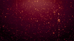Underwater red bubbles rising - Bubbles 102 HD, 4K Stock Footage Stock Footage