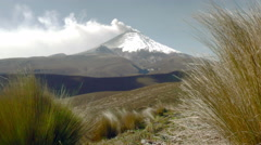 Cotopaxi Volcano Eruption Time Lapse - stock footage