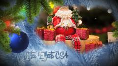 Christmas Freeze Slideshow Stock After Effects